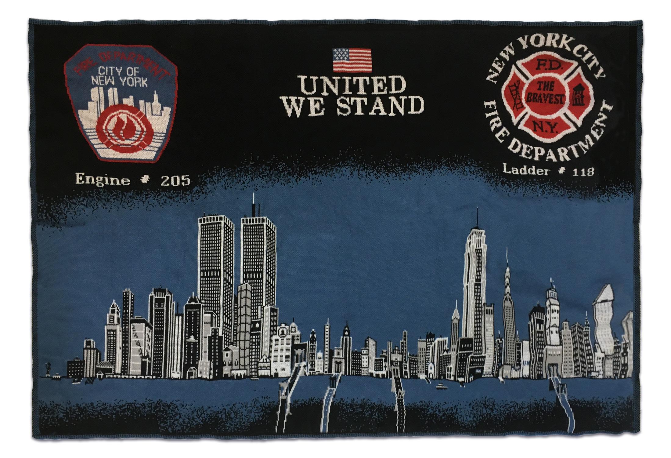 NYC Skyline Blanket