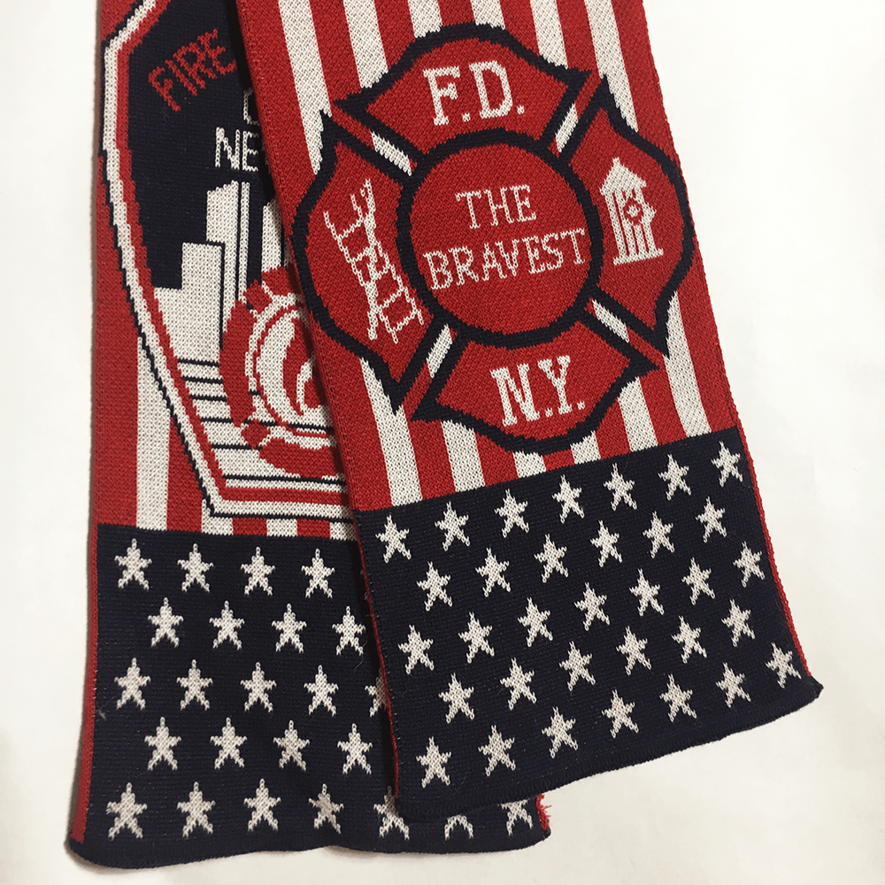 FDNY The Bravest Scarf