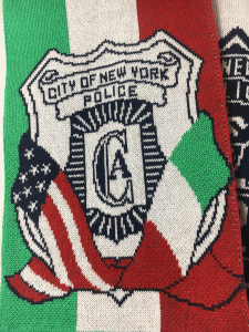 Custom Scarf for Raffles NYPD Italy