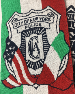 Custom Scarf for Raffles NYPD Italy
